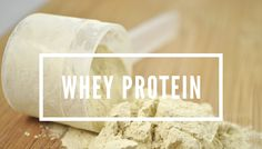 Whey Protein, Dairy, Cheese, Food, Eten, Meals, Diet