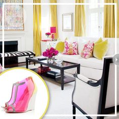From Louboutin to Living Room - click for style Inspirations