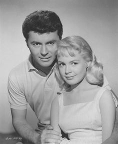 #Fifties | Sandra Dee and James Darren, stars of Gidget, 1959