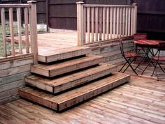 How To Do Deck Steps | How To Build Deck Stairs Like This - Building & Construction - DIY ...