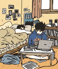 The Art of Freddie Niem Got7 Fanart, Kpop Fanart, Anime Kunst, Anime Art, Art And Illustration, Cartoon Drawings, Cute Drawings, Character Art, Character Design