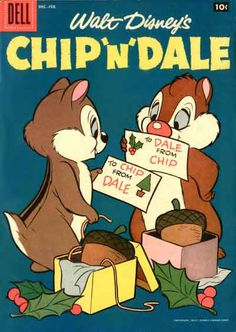 CHIP 'N' DALE, GOLDEN AGE DELL COMICS