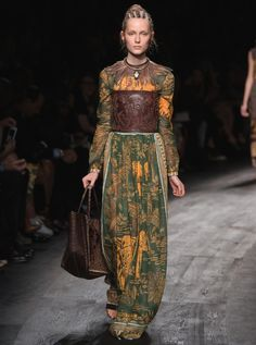 Every Single Look From Valentino Spring 2016 via @WhoWhatWearUK