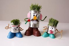 DIY Recycled project: Mr. Recycle Head Man | DIY