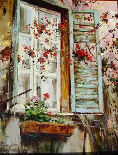 Окна в живописи: 43 картины с глубоким смыслом - Ярмарка Мастеров - ручная работа, handmade