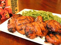 The Cook-a-Palooza Experience: Grilled Maple-Soy Chicken Prepared Under Blue Skies