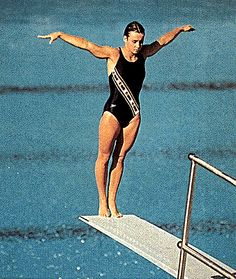 Sylvie Bernier, CM, CQ (born January is an Olympic athlete from… 1984 Summer Olympics, Winter Olympics, Olympic Athletes, Olympic Team, Sainte Foy, Olympic Diving, Order Of Canada, Diving Springboard, Recreational Sports