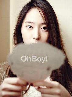 Krystal of f(x) @ OhBoy Magazine