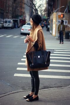 love love this bag....original pinner: steel toe #streetstyle