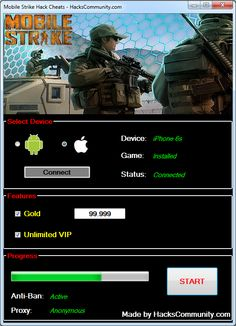 Mobile Strike Hack Cheats