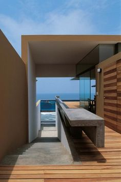 """Casa Equis"""" La Escondida Beach"""" Peru / Barclay & Crousse Architecture"""