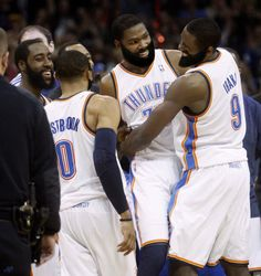 The Beard taking over the game, and the team.