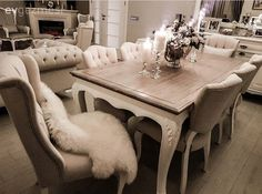 Ahşap, Krem, Salon, Yemek Odası Sofa Design, Furniture Design, Rooms Home Decor, Living Room Decor, Modern Interior, Interior Design, Home Curtains, Furniture Catalog, Dining Room Design