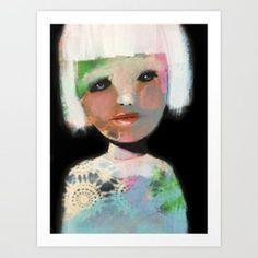 By Kari Anne Marstein   Vem vet Art Print