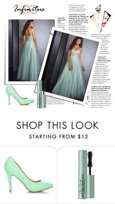 """robe de soirée-prom dress-24"" by sophie-robelle on Polyvore featuring Too Faced Cosmetics"