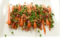 Carrots with Peas an