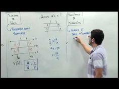 TEOREMA DE TALES - SEMELHANÇA DE TRIÂNGULOS | Matemática para concursos