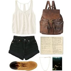 Outfit #89: Everything is perff except the book....like why is there a book???