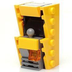 Custom LEGO Retro Arcade (Mangue) Legos, Simpsons Lego, Technique Lego, Lego Creative, Lego Machines, Lego Furniture, Micro Lego, Amazing Lego Creations, Lego Pictures