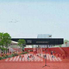 Construction Begins on Shift Architecture Urbanism's C-City Museum District