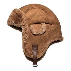 Shearling Trapper Hat  Coach