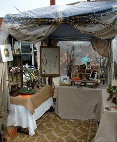 """fairy"" tent at the Alberta Art Hop"