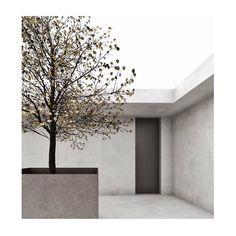 Concrete courtyard ➕Eagles nest @mattiasschlachet