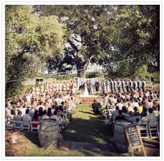 outdoor ranch wedding, old windows with fabric ties for alter backdrop