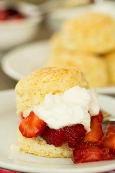 Strawberry Shortcake   browneyedbaker.com