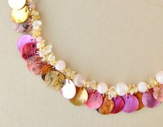 Gypsy necklace. Wouldn't this look beautiful with the Bezel paint!