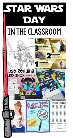 Star Wars Day Ideas for the Classroom! - the tattooed teacher