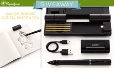 Spoonflower's giveaway this week: a chance to win a Wacom Inkling! (Enter by 5 February, 6pm EST)