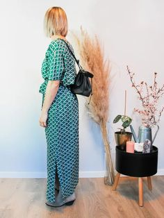 Jurk Amali Japanese Sustainable Clothes, Pantone, Jumpsuit, Japanese, Dresses, Fashion, Overalls, Vestidos, Moda