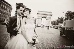 paris wedding..perfect location on champs elysees right outside my venue ;)