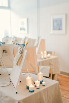 Paint party: http://www.stylemepretty.com/living/2015/10/06/a-new-twist-on-paint-night/ | Photography: CJK Visuals - http://www.cjkvisuals.com/