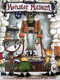 monster museum book   Book Sharing Monday :: Monster Museum