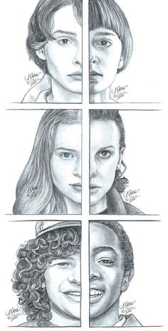 Image discovered by BB. Find images and videos about art and stranger things on We Heart It - the app to get lost in what you love. Stranger Things Aesthetic, Stranger Things Funny, Eleven Stranger Things, Stranger Things Netflix, Stranger Things Season, Stranger Things Fan Art, Stranger Quotes, Art Drawings, Movies