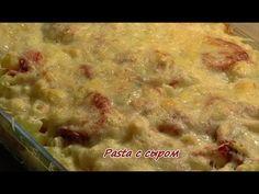 Макароны с сыром и помидорами. Просто, вкусно, недорого. - YouTube