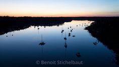 France, Finistère (29), Bénodet, la rivière l'Odet vue du pont de Cornouaille