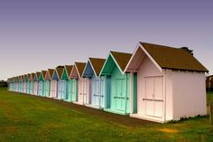 summer houses by Rhys Jones   near southsea hampshire