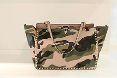 Valentino Camouflage Collection Bag