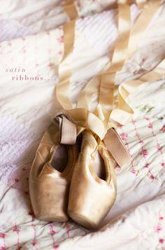 Gaynor Minden Ballet Shoes, kept both my girls first pairs x