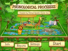 The Phonological Processes app was created by a certified speech and language pathologist for children ages 4 and up who exhibit phonological disorders or delays. This research-based app implements a Speech Therapy Activities, Speech Language Pathology, Language Activities, Speech And Language, Articulation Therapy, Therapy Games, Therapy Tools, Phonological Disorder, Phonological Processes