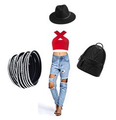 """Untitled #2"" by karina-mitrana on Polyvore featuring Motel, Boohoo and BeckSöndergaard"