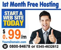 Web Hosting in Pakistan by YoursDomain.com