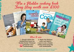 Win a Hodder cookery book Swag Bag worth over £100.