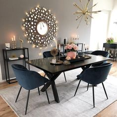 Cool Small Modern Dining Room Design Ideas For Your Inspiration Interior Design Living Room, Living Room Decor, Kitchen Interior, Modern Kitchen Tables, Minimalist Dining Room, Minimalist Kitchen, Modern Minimalist, Dining Room Inspiration, Design Inspiration