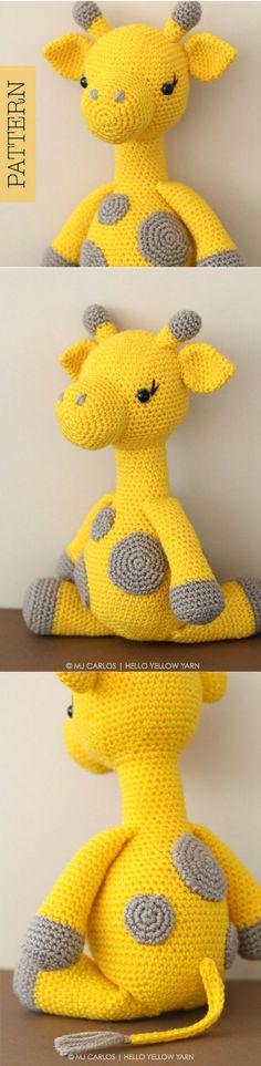 Amigurumi Giraffe Crochet Pattern Printable #ad #amigurumi #amigurumidoll #amigurumipattern #amigurumitoy #amigurumiaddict #crochet #crocheting #crochetpattern #pattern #patternsforcrochet #printable #instantdownload #giraffe