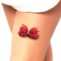 Sexy Bowknot 3d Temporary Tattoo Body Art Flash Tattoo Sticker 19*9cm Waterproof…