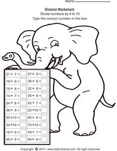 math worksheet : numbers division worksheet!  maths p2 b4  pinterest  division  : P2 Maths Worksheets